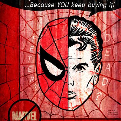 Hal hefner spiderman is dead hal hefner
