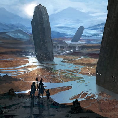 Ward lindhout pillars of the gods