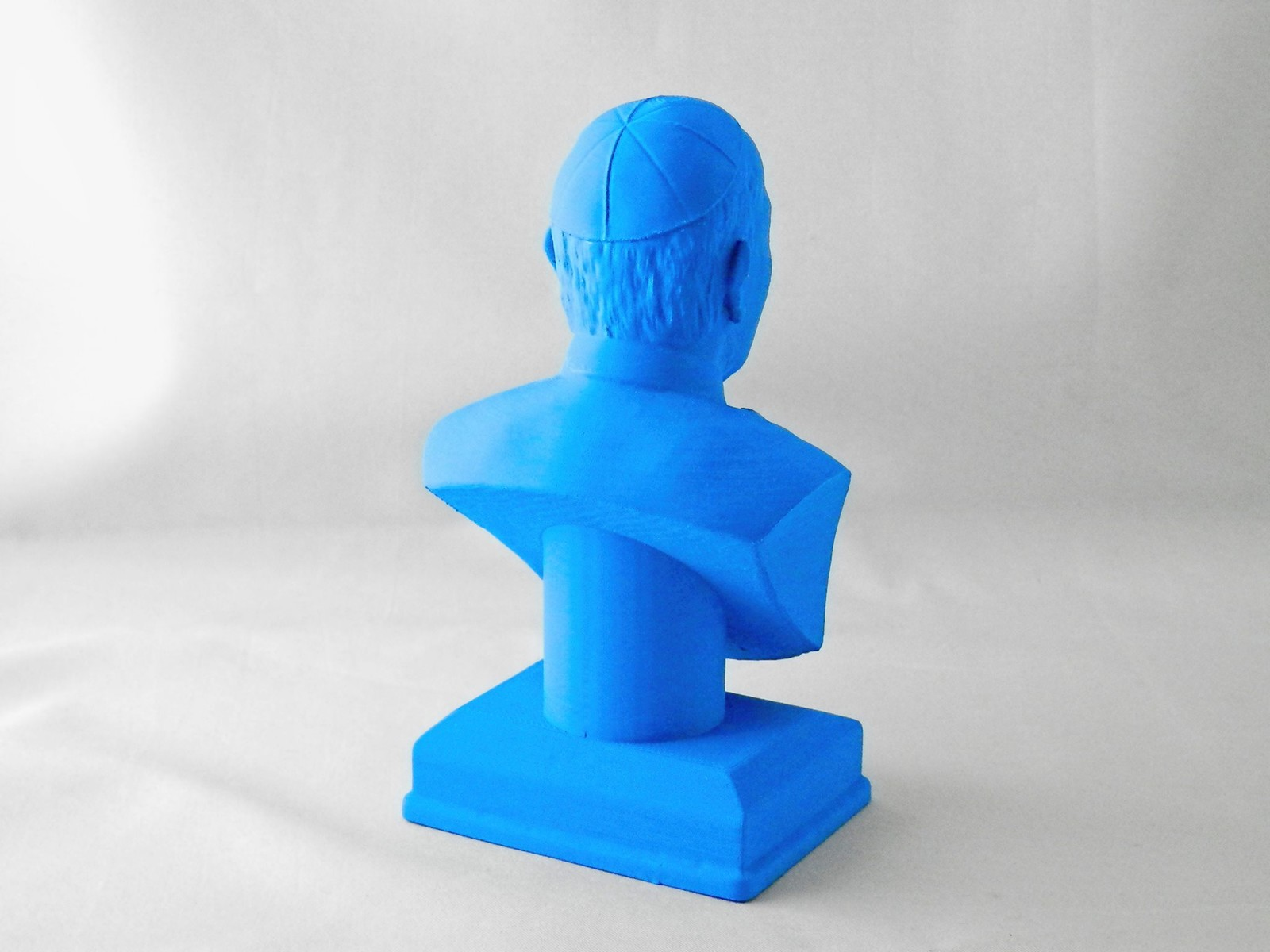 3D printed sculpture, ABS 90 microns, no finishing