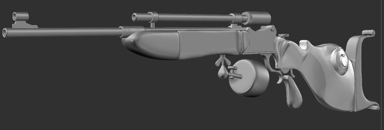 Tomasz cwik scoped custom rifle cc