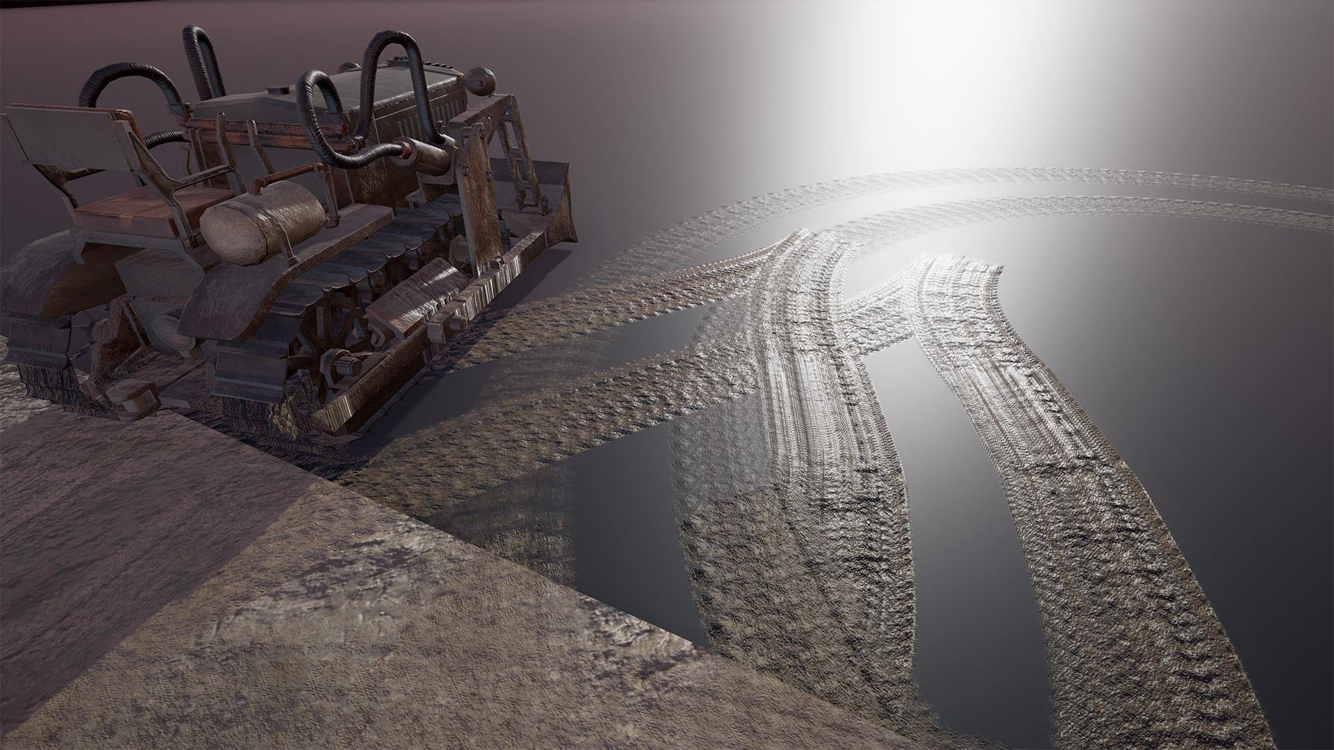 ArtStation - Vehicle tracks system for unreal engine, Thijs