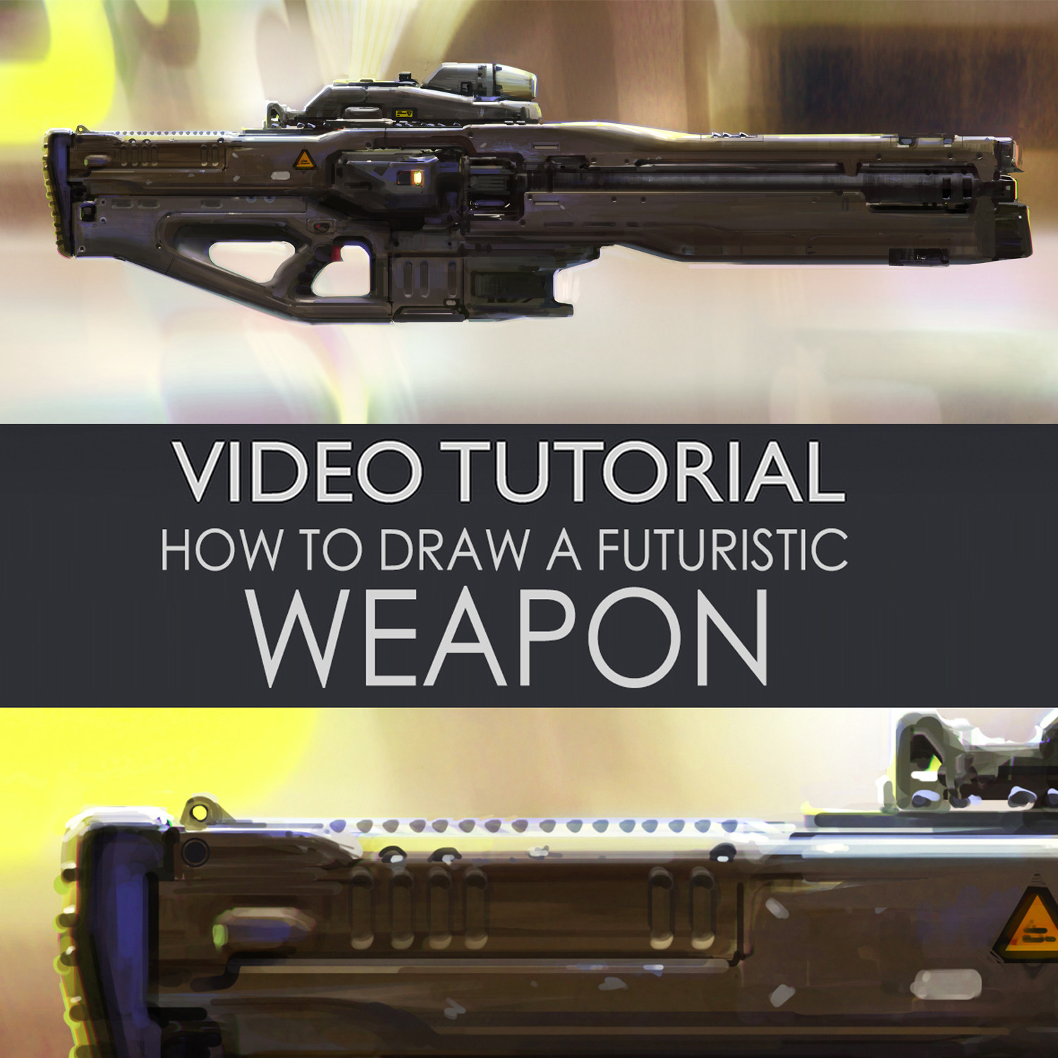 Futuristic weapon tutorial