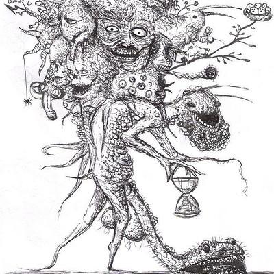 Yasar vurdem doodle creatures and cute animals by vurdem d93ki5t
