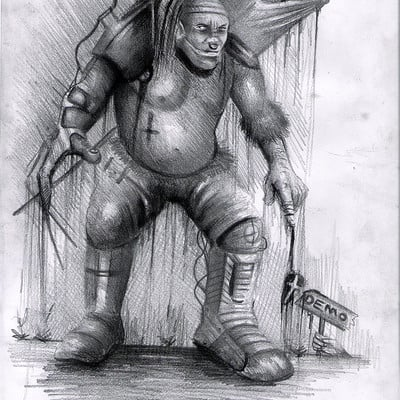 Yasar vurdem demonic soldier design 1 by vurdem d70s5yg