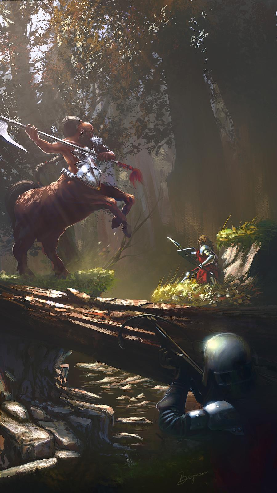 centaur hunting