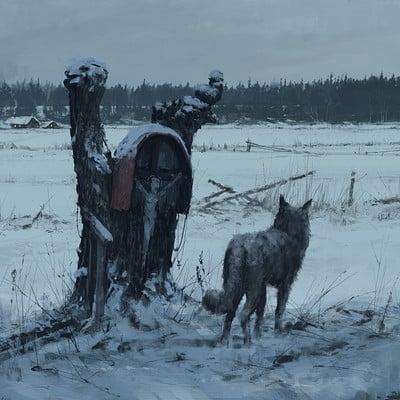 Jakub rozalski werewolves1863 01