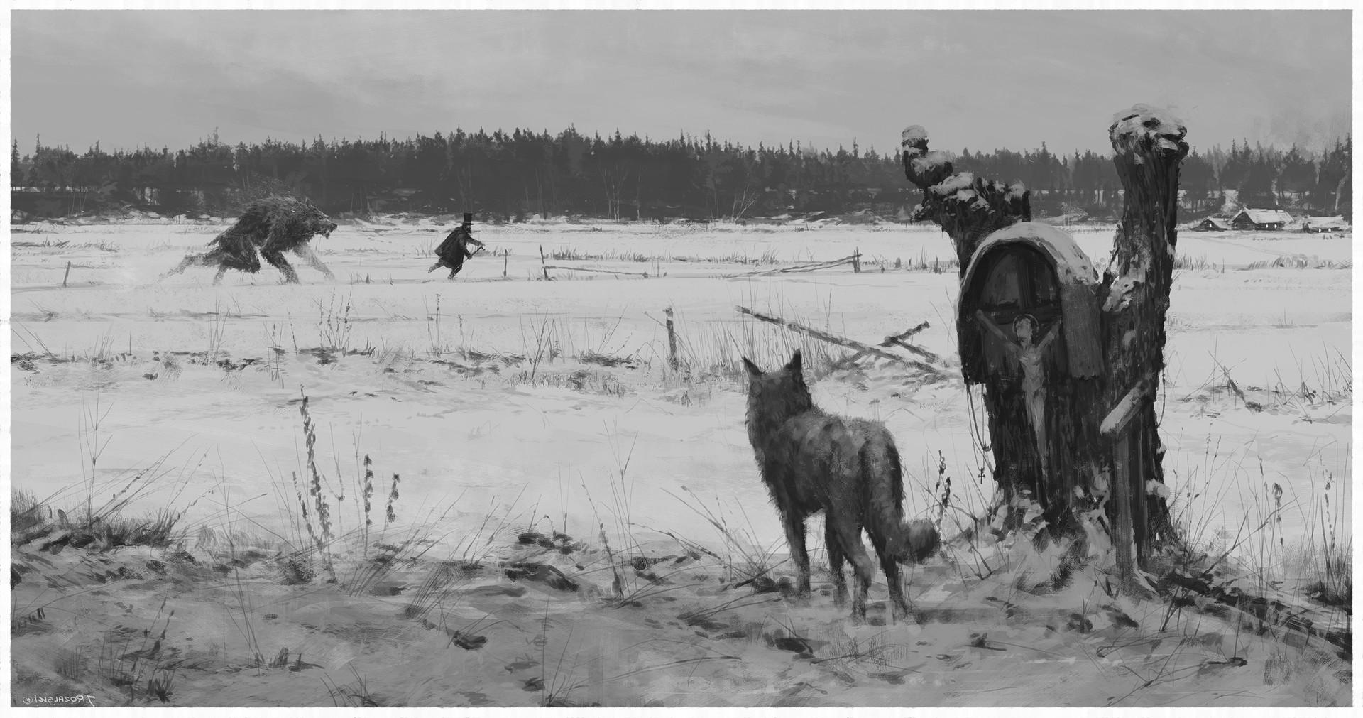 Jakub rozalski werewolves1863 01process3a