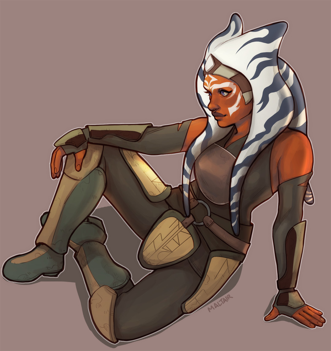 Star wars ahsoka cartoon porn