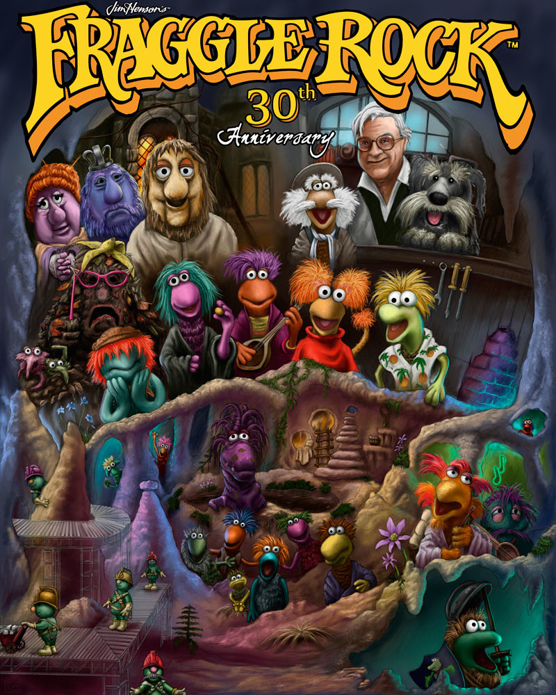 Fraggle Rock 30th Contest Entry