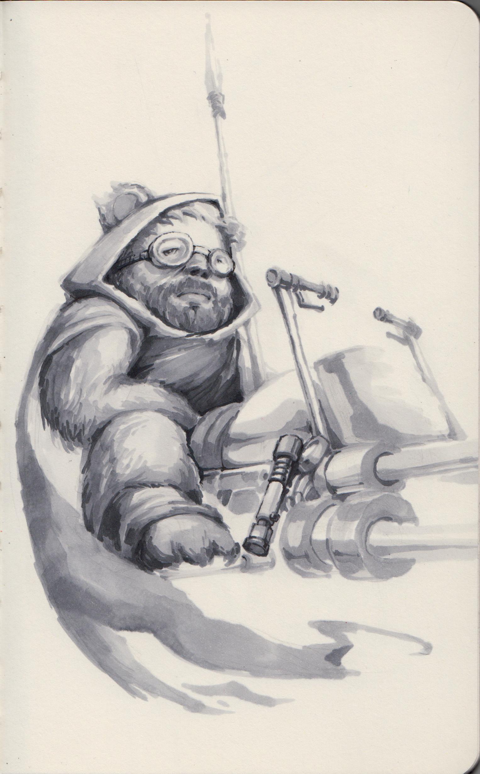 Jedi Ewok