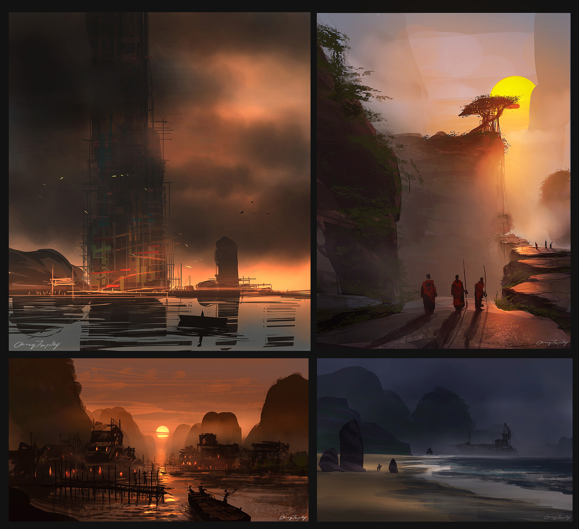 Chirag tripathy speedpaints vol2