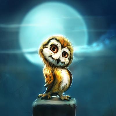 Okan bulbul owl new004