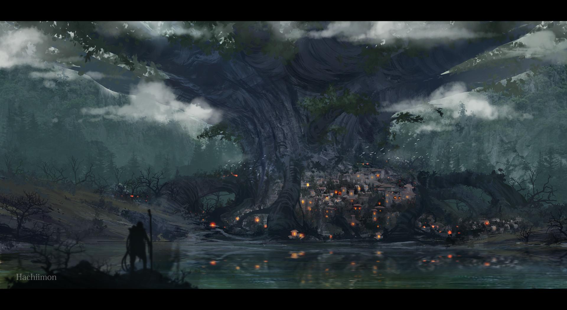 La menace fantôme Mon-macairap-environments03a-fantasshiieeeeee01a