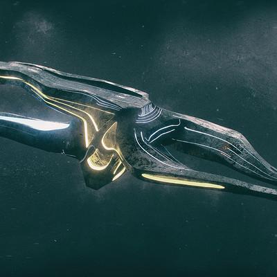 Kresimir jelusic 113 30116 alien raider ship