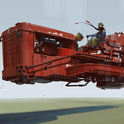 Red hong 20160125 heavy machine