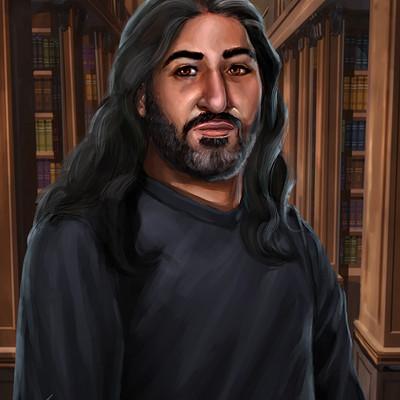 Aaron doyle ib portrait