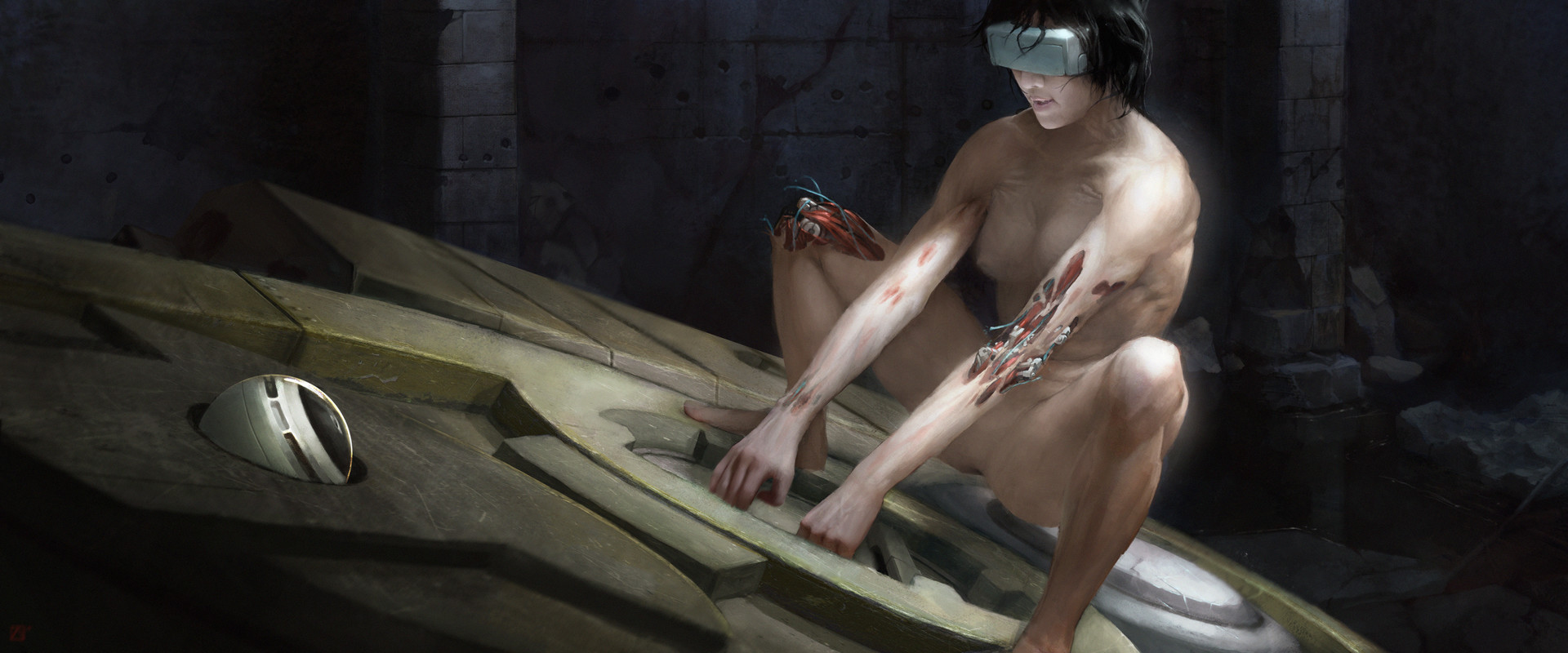 Movie clip ghost nude