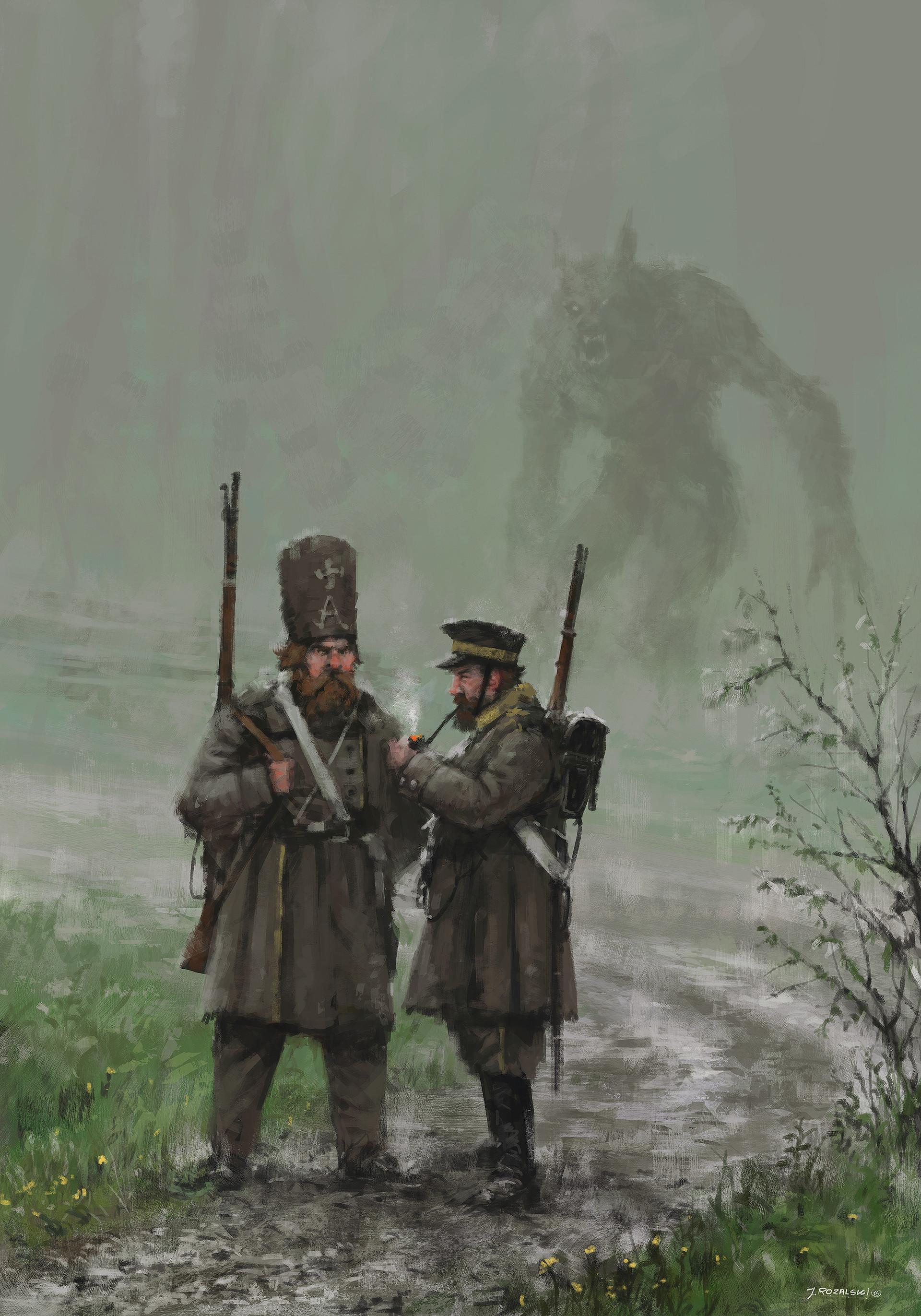 Jakub rozalski monday1863
