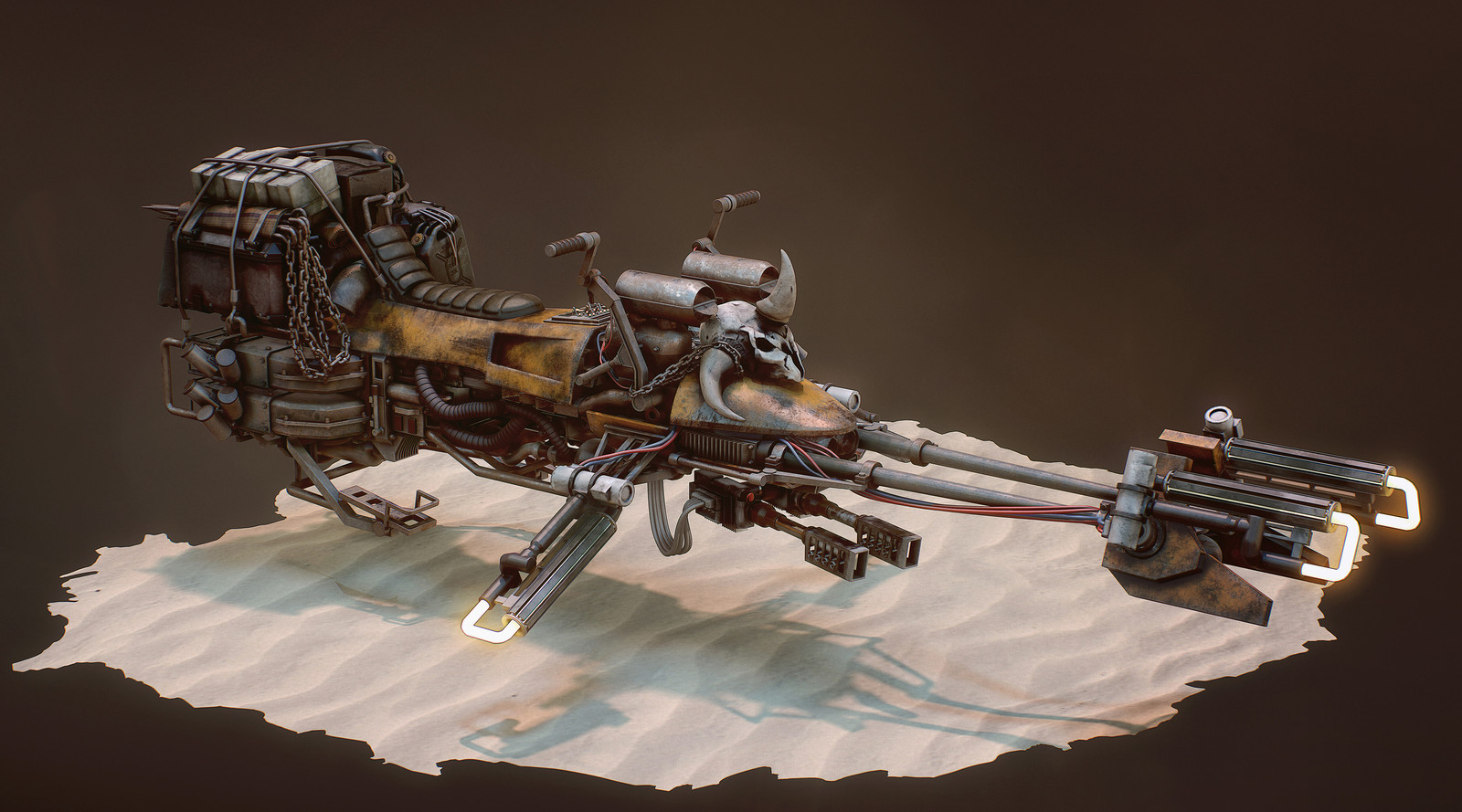 Mad Max Speeder Bike