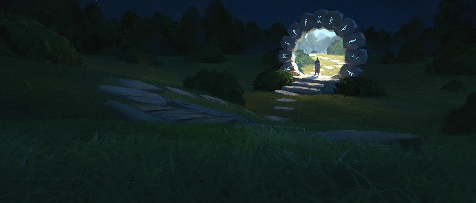 Fantasy Magic Portal Art