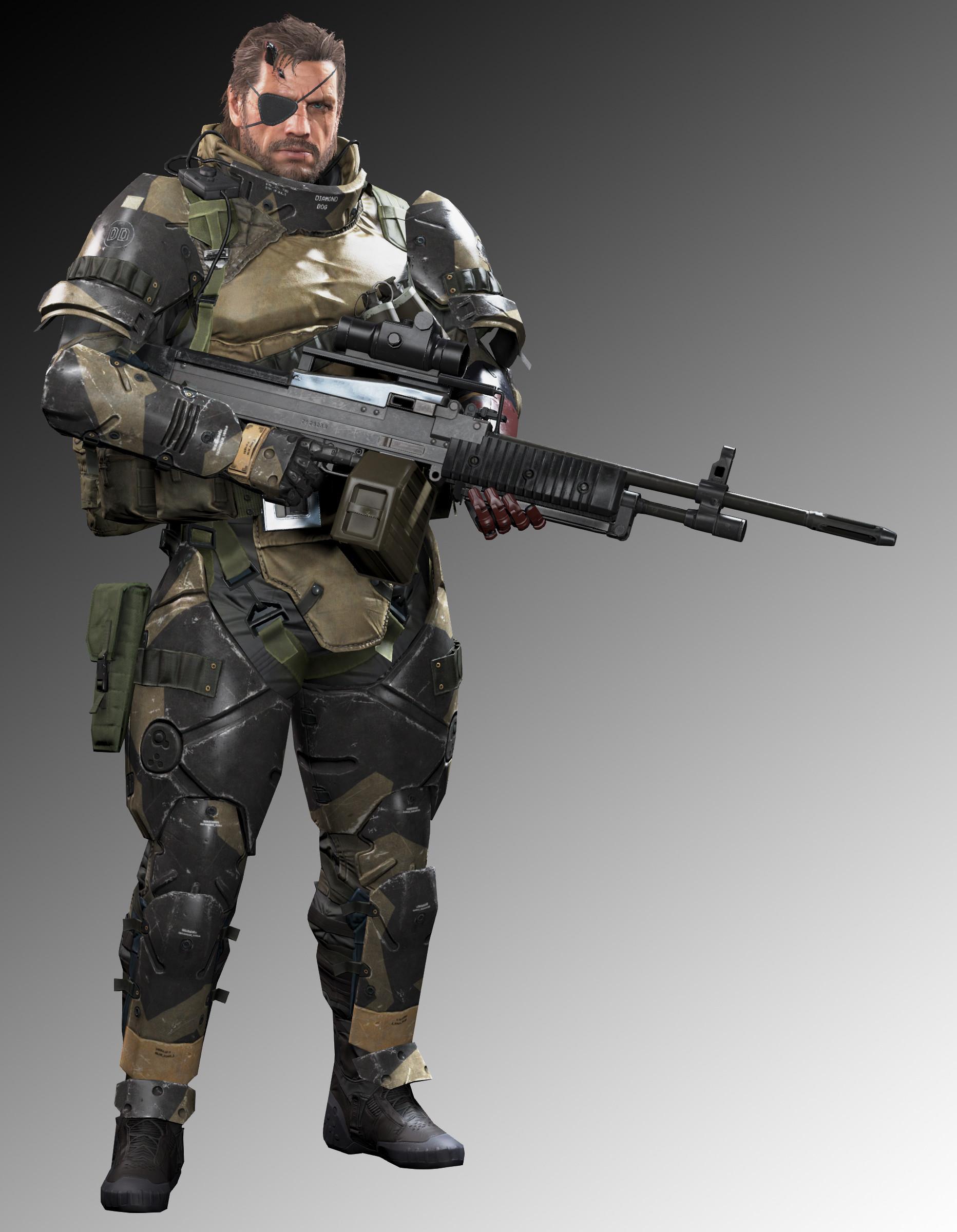 Artstation Metal Gear Solid V The Phantom Pain Big