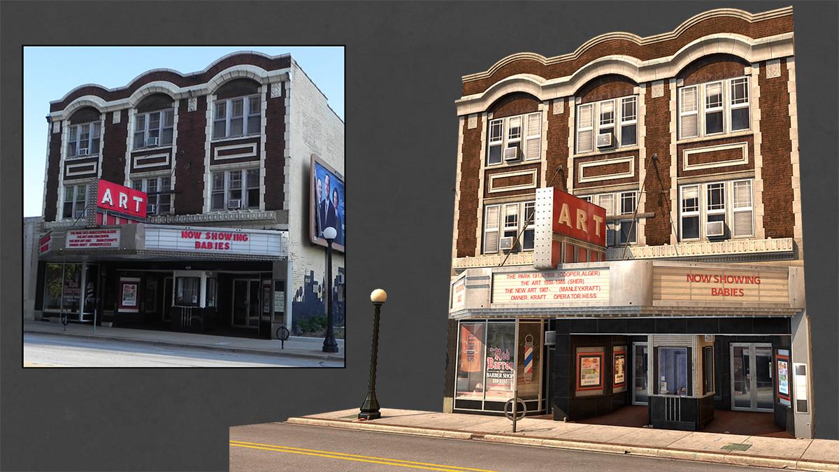 Art Theater, Champaign, IL - Personl Work