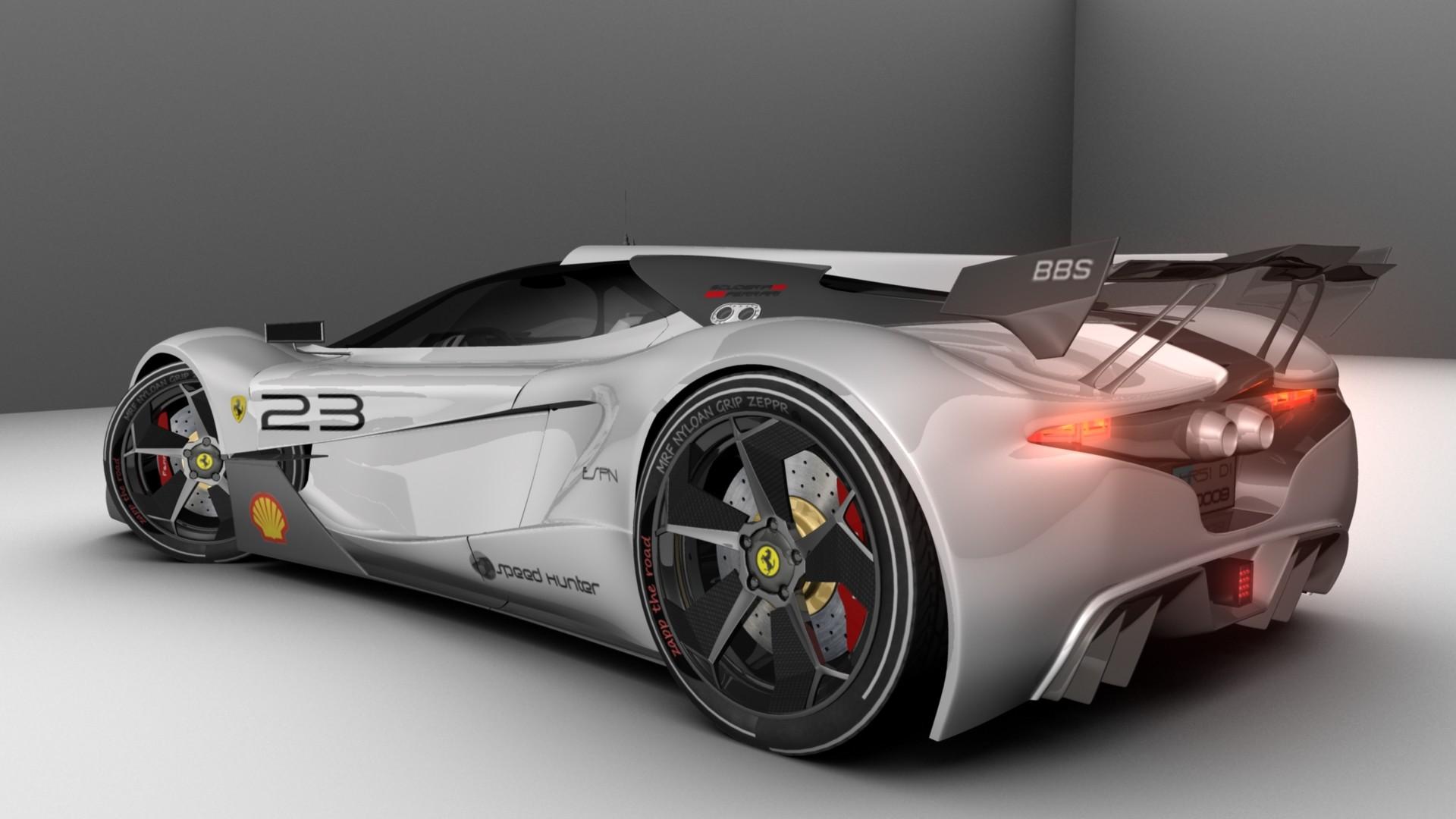 Ud Sharma Yudhisther Ferrari Concept Cars