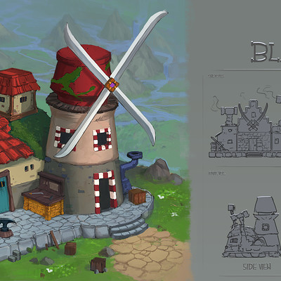 Victor kallqvist building the blacksmith done
