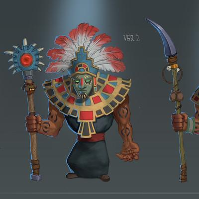 Victor kallqvist enemy shaman done