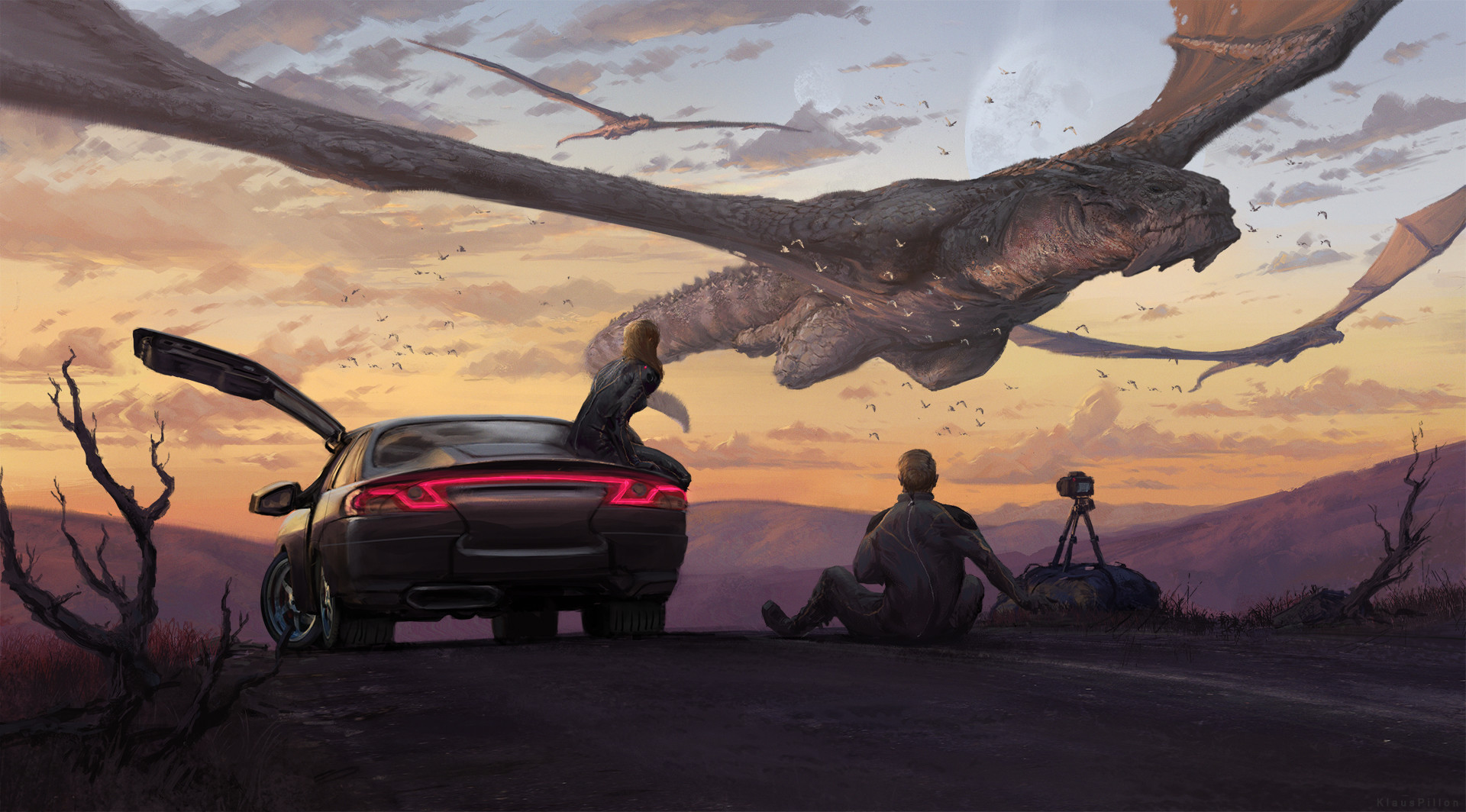 Klaus pillon klauspillon dragons sightseeing final