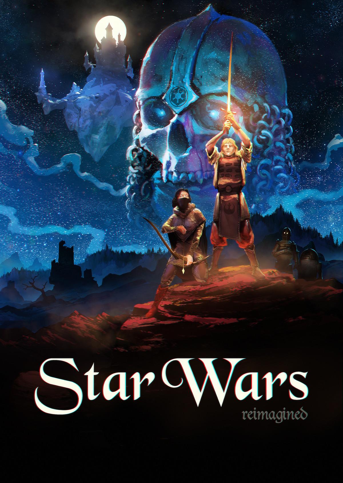 Alfred khamidullin star wars reimagined