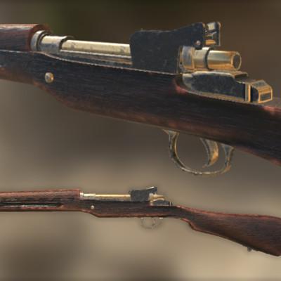 Theophile loaec fusil