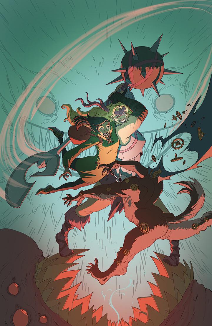 Variant cover for Marvel's Weird World