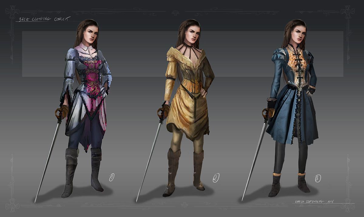 Base clothing concept
