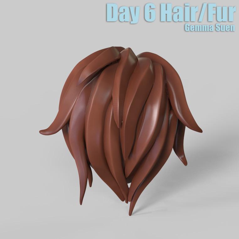 Gemma suen day6 hairfur