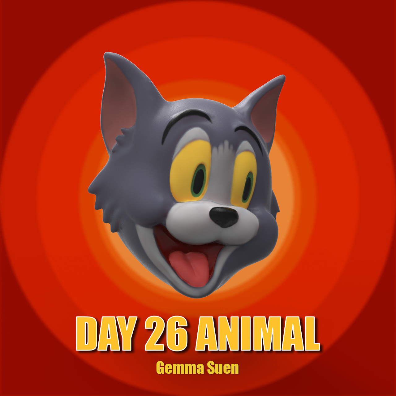 Gemma suen day26 animal