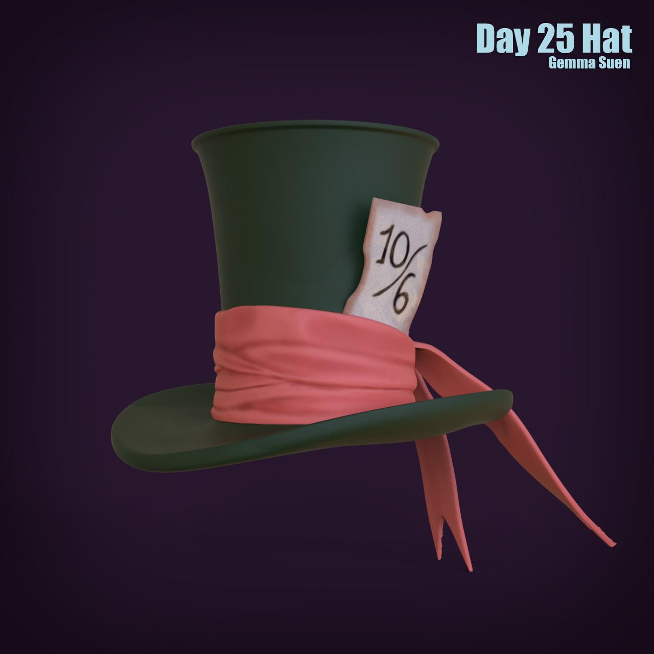 Gemma suen day25 hat