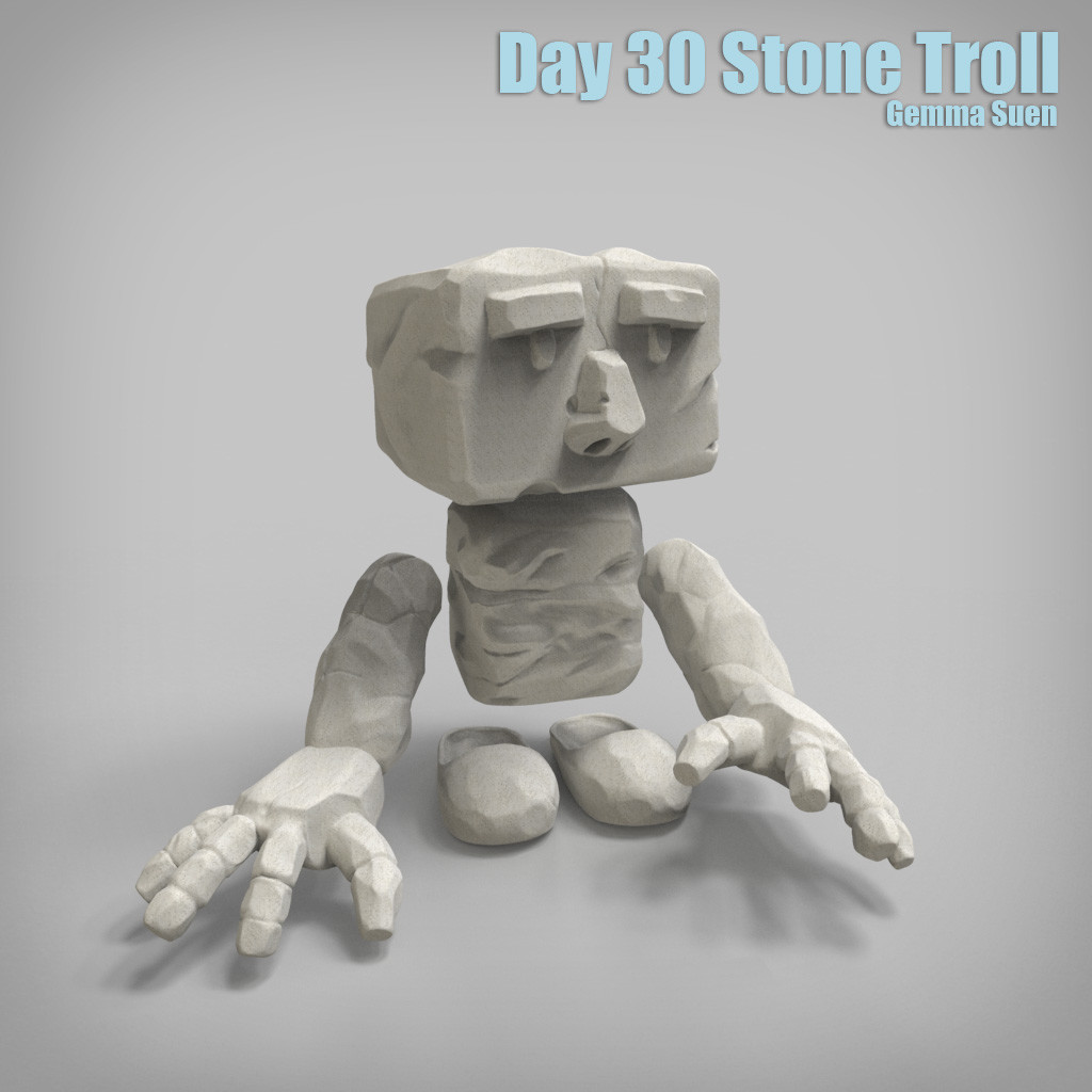 Gemma suen day30 stonetroll