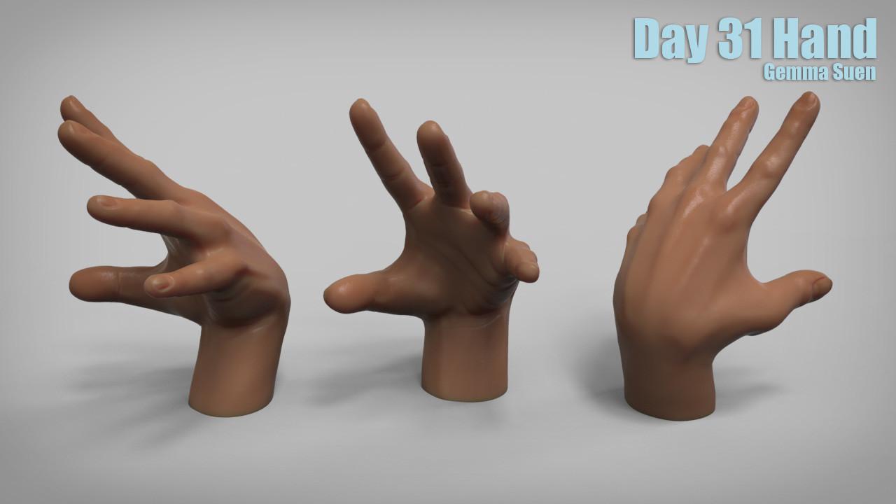 Gemma suen day31 hands