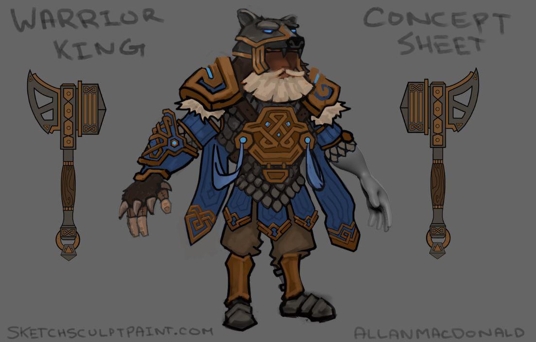 Allan macdonald warrior king 03