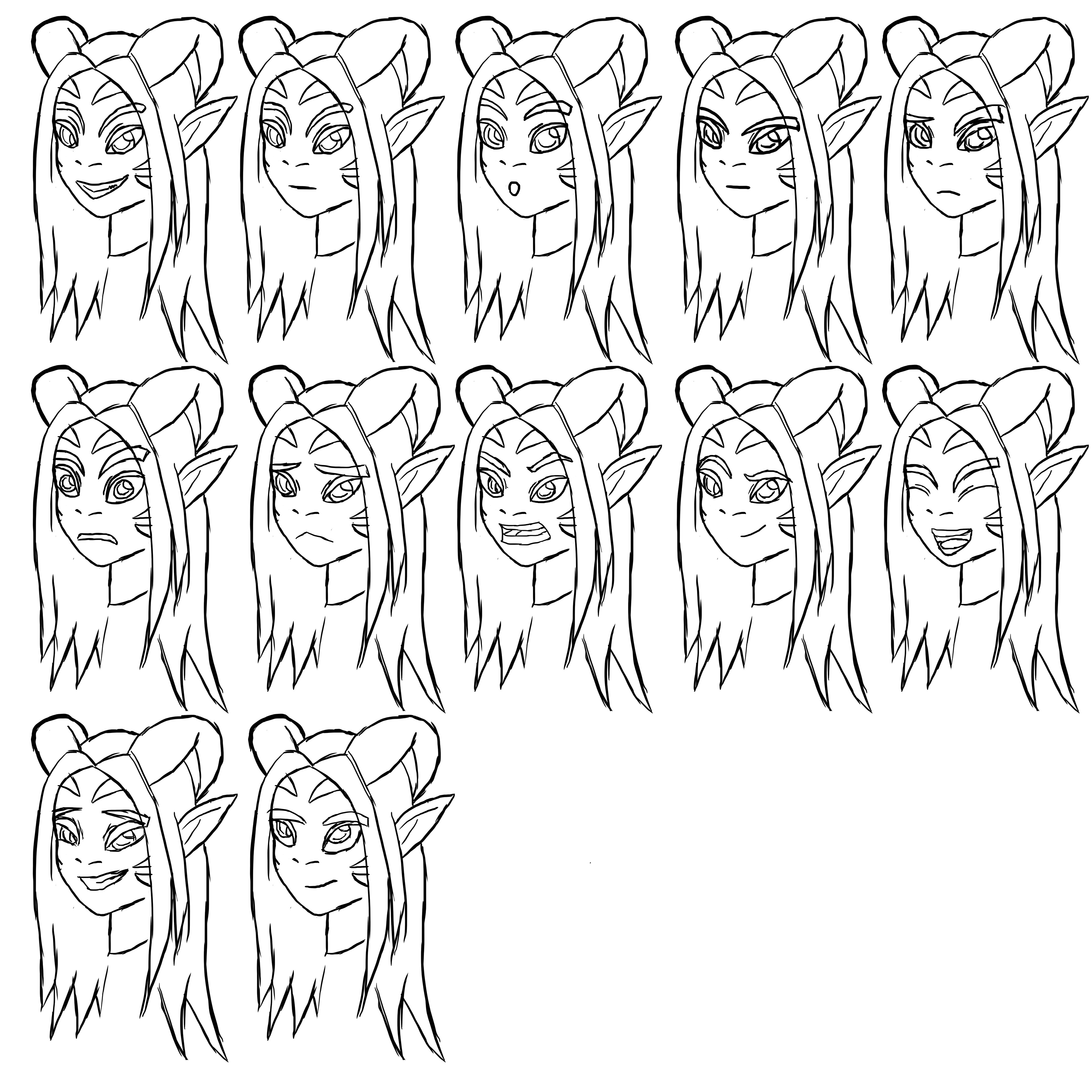 Expressions Sheet