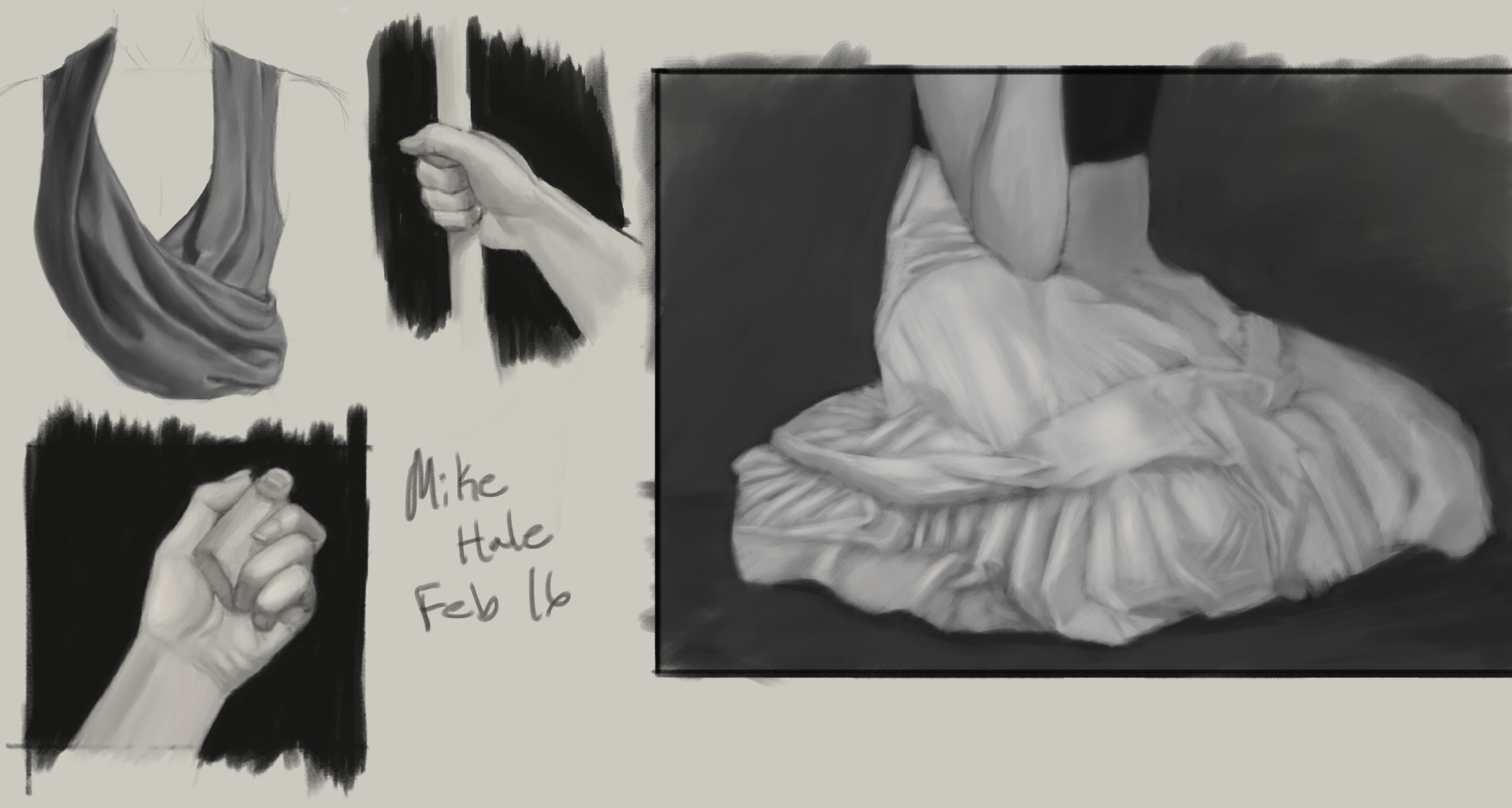 Mike hale studies da 002