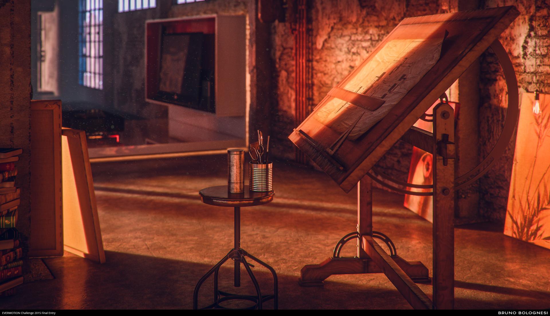 Bruno bolognesi loft 11