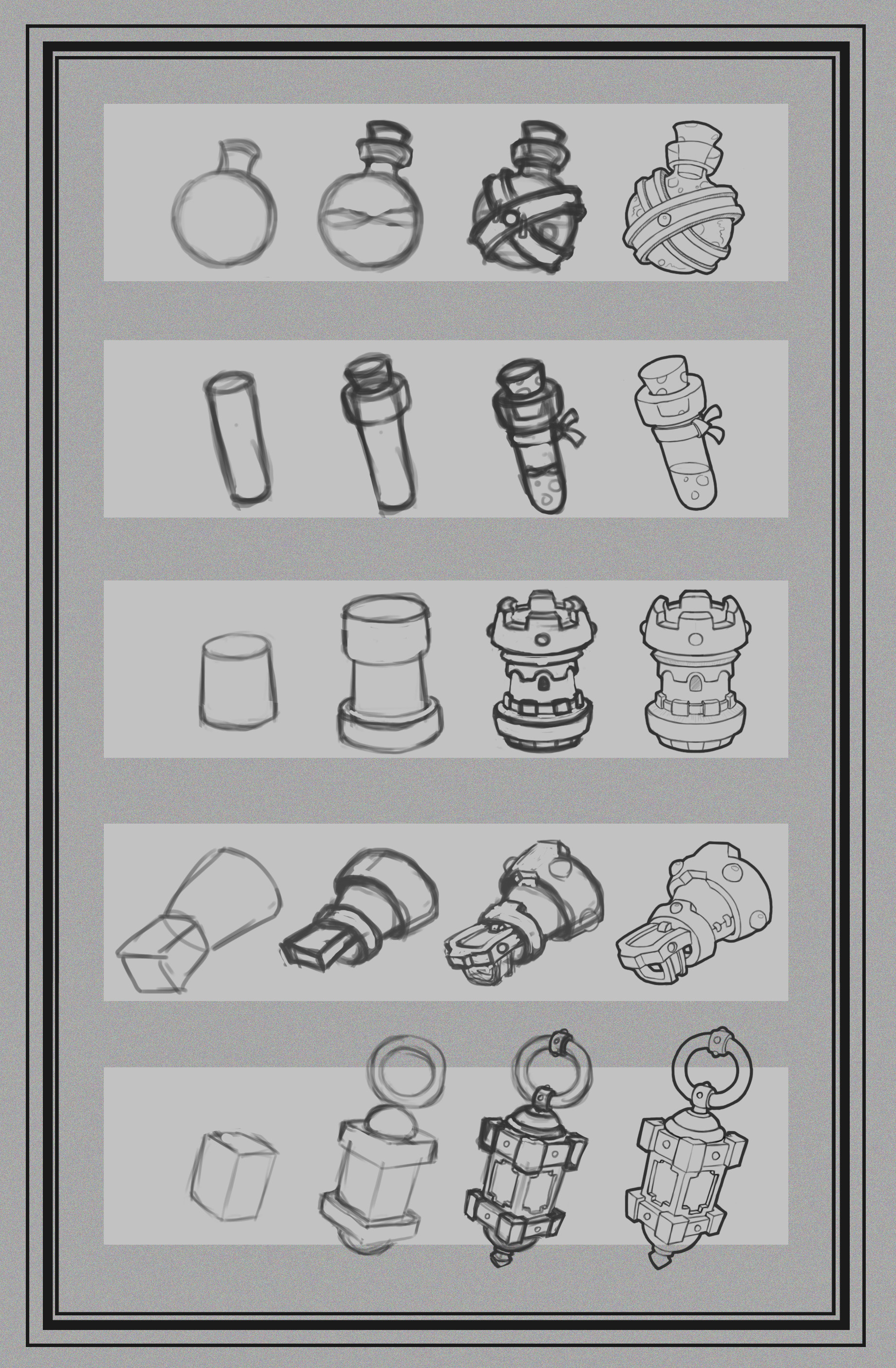 Artstation Simple Objects How To Draw Step By Step Arslan