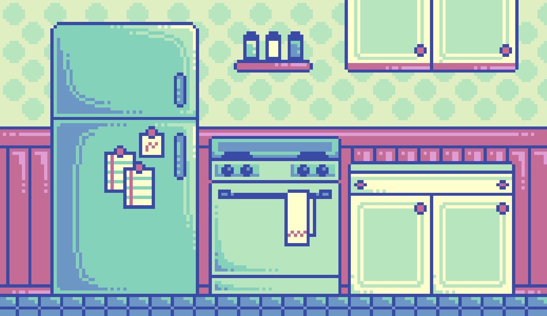 Sarah Boeving - Kitchen (pixel)