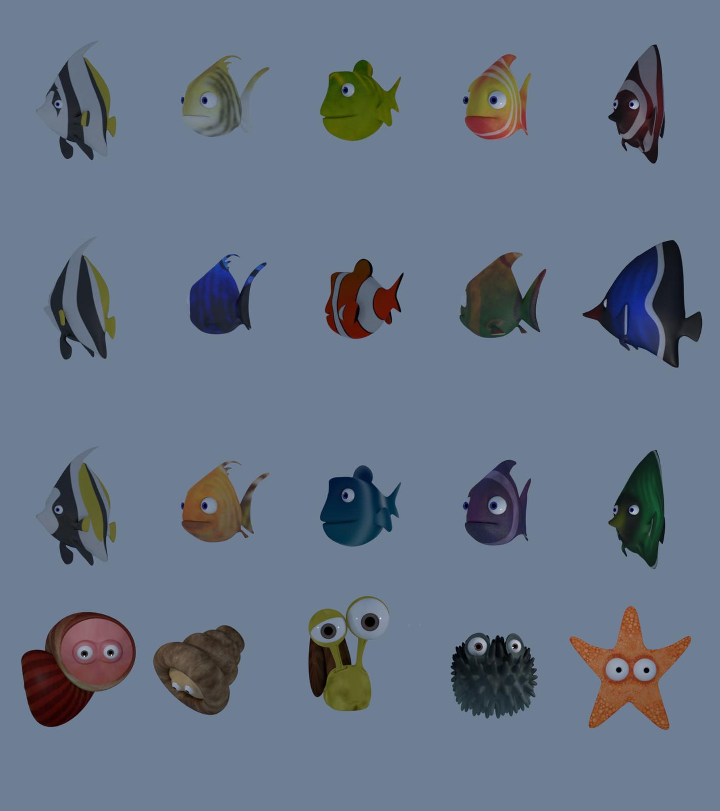 Sea wildlife