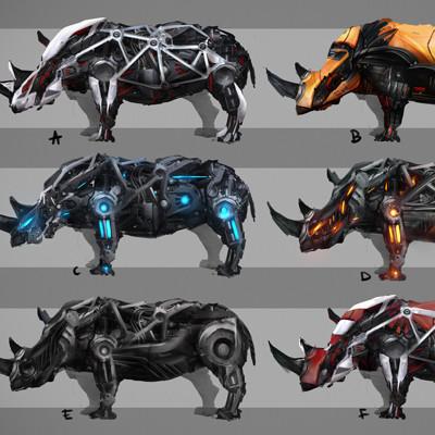 Irina kovalova initial rhino concepts iri