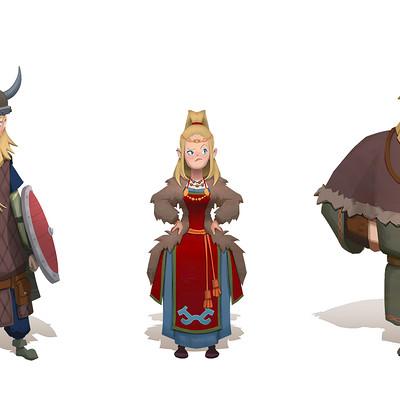 Victor kallqvist viking charas