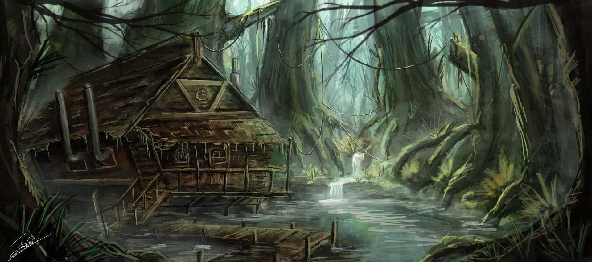 Pergamino XXXI: De la ponzoñosa vida de Amadahy y las leyendas que nunca se hicieron realidad Jerico-cinco-swamp