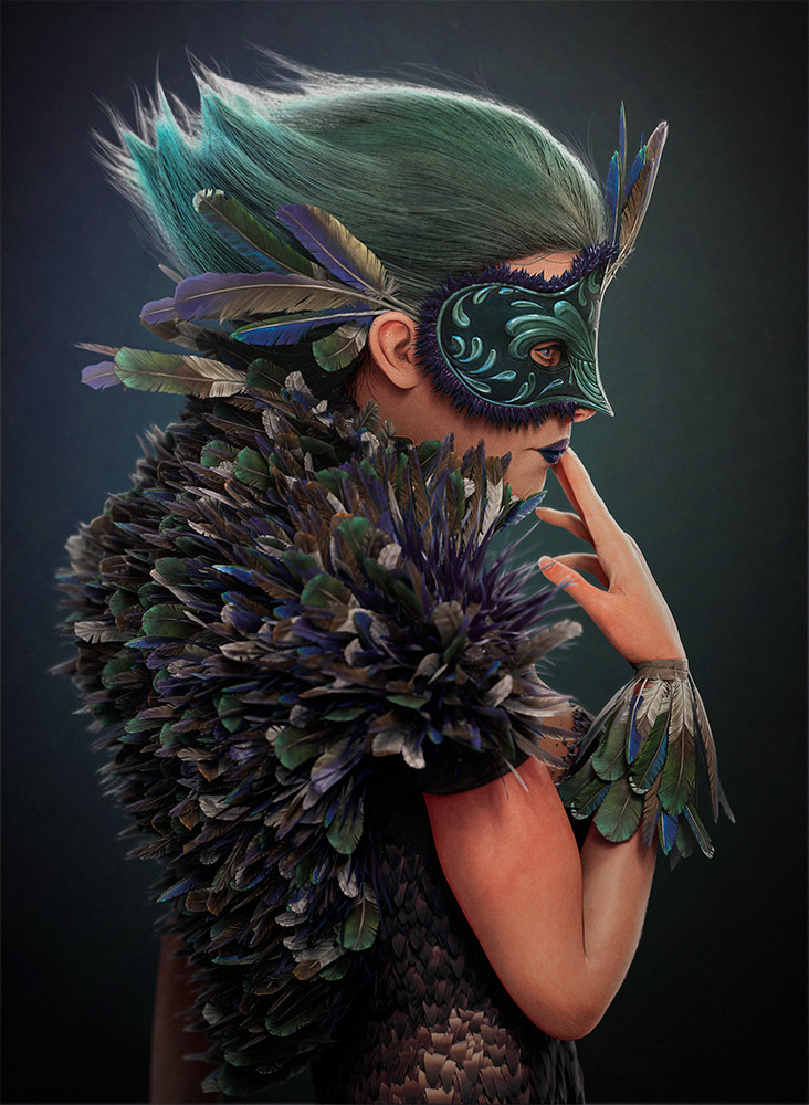 Pablo munoz gomez feathercoat